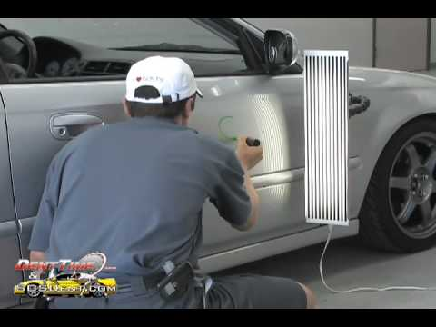 Learning Paintless Dent Repair / Removal , PDR Training Episode 1 - Tool Tip Location