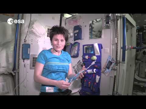 International Space Station bathroom tour