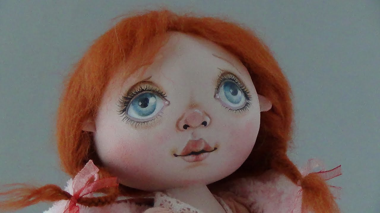 Как нарисовать кукле лицо своими руками