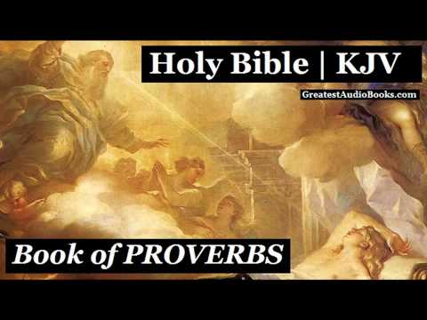 Holy Bible: Proverbs - King James Version | Full Audiobook | Greatest Audio Books | Kjv video