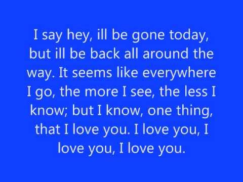 Say Hey Lyrics by Michael Franti