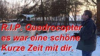 DJI Phantom Quadrocopter, Für Immer Verloren Inkl. GoPro Hero 3+, 31. Jan. 14