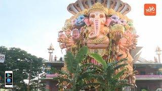 Khairatabad Ganesh 2018 Nimajjanam | Ganpati Shobha Yatra | Hyderabad | Tank Bund