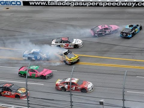 KEVIN HARVICK WRECKED THE FIELD?