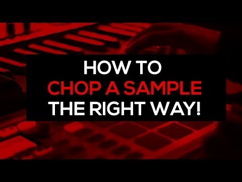 Beatmaking Tutorial : How To Chop A Sample The Right Way And Make A Beat From It video