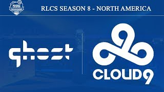 Ghost vs Cloud9 | RLCS Season 8 - North America (5th October 2019)
