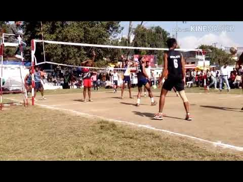 Volleyball final match Delhi vs Punjab at Himachal on 18 to 19 October