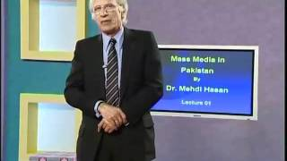 MCM304 Mass Media in Pakistan