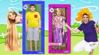 Valentina and New Rapunzel doll / BONECA GIGANTE DE VERDADE