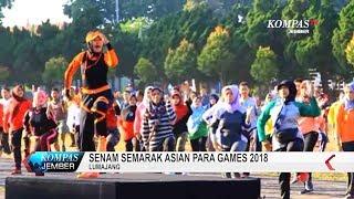 Senam Semarak Asian Para Games 2018