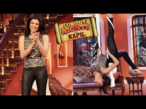 Sushmita Sens SEXY LOOK on Kapil Sharmas Comedy Nights With...
