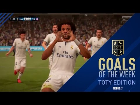 FIFA 17 - Goals of the Week - Team of the Year Special