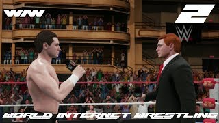 'FRIDAY FIGHT NIGHT!!! WIW WWE2K18 CAW UNIVERSE MODE EP2