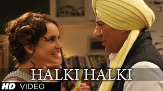 I Love New Year - Halki Halki I Love New Year Video Song Ft. Sunny Deol, Kangana Ranaut | Shaan, Tulsi Kumar