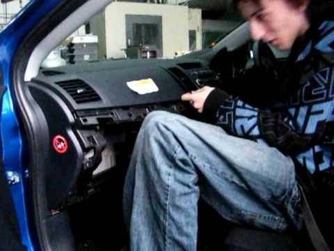 2008 Lancer How To: Dash + Radio Removal