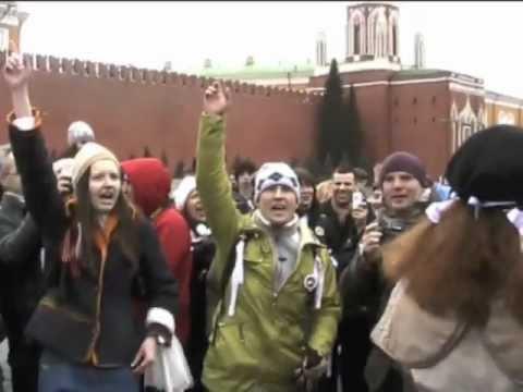 """Acțiune de protest la Moscova """"Beloe Metro"""""""