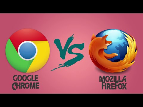 Google chrome vs Mozilla Firefox 2016