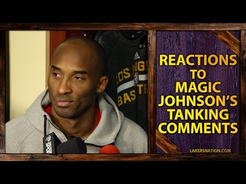 Kobe Bryant, Nick Young React To Magic Johnson's Tanking Comments