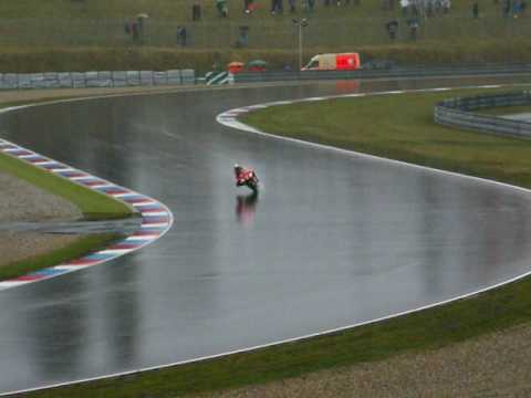 Moto Gp BRNO 2008 (powerslide in wet practice) by jarsoon