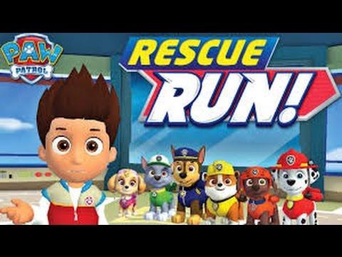 Paw Patrol Rescue Run