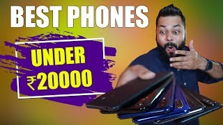 TOP 6 MOBILE PHONES UNDER 20,000 BUDGET ⚡⚡⚡ April 2019