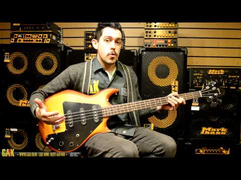 Gibson - Grabber 3 '70s Tribute Bass Demo at GAK!
