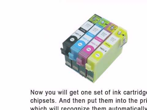 Compatible ink cartrigde for Epson S22 SX125 with auto reset chip