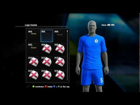 Pes 2013 Como colocar uniformes Liverpool, Manchester City, Chelsea, Arsenal e mais