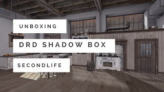 UNBOXING DRD Shadow Box in Second life