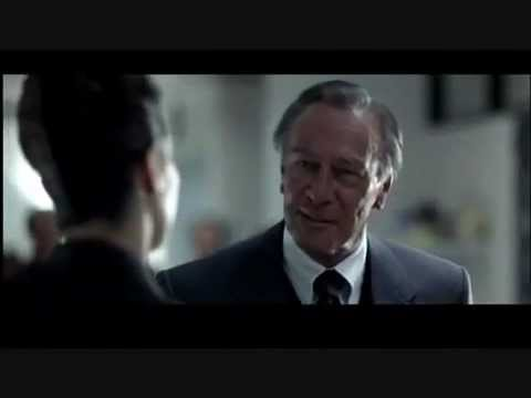 """Christopher Plummer as 60 Minutes' Mike Wallace from """"The Insider"""" (1999)"""