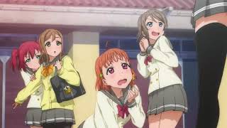 Yohanes first scene except everyone besides her is english