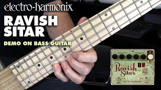 Electro-Harmonix Ravish Sitar demo for Bass Guitar