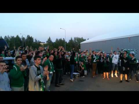 Žalgirio fanų šokis komandai 2014-05-14