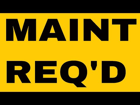 how to reset maint reqd light on toyota tacoma