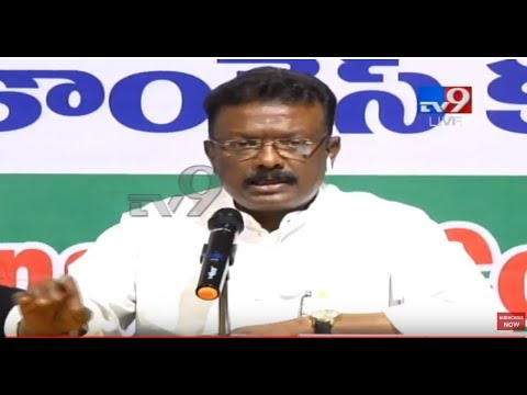 Congress Leader Shravan kumar Press Meet LIVE || Gandhi Bhavan - TV9