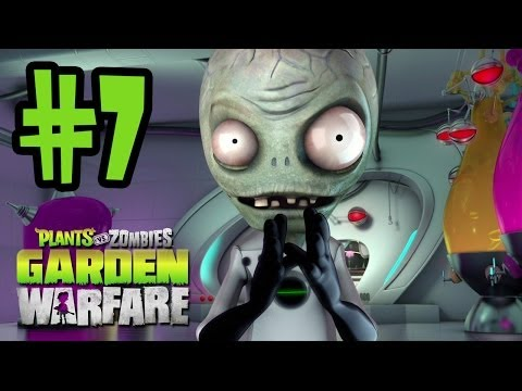 Plants VS Zombies Garden Warfare Gameplay Walkthrough Part 7 GARDEN OPS HARD MODE