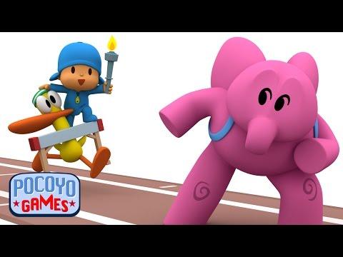 Pocoyo Games - ¡Salto de vallas accidentado!   Olimpiadas Río 2016