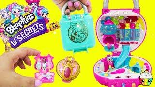 Shopkins Lil Secrets Tiny Shoppies Lockets Secret Map Scratch Off Worlds