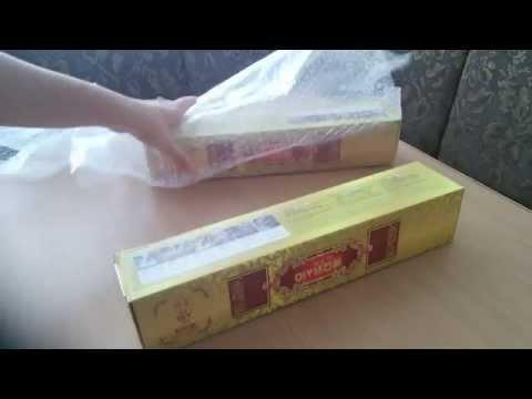 Посылка с вышивкой видео