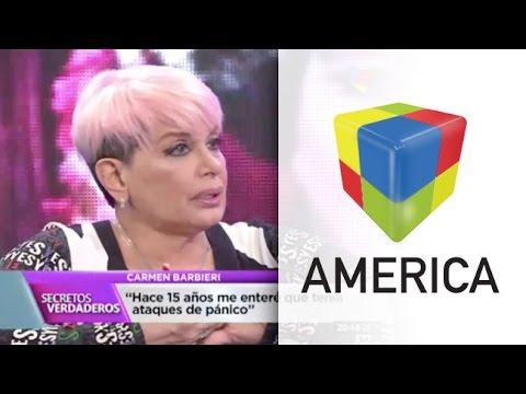 Carmen Barbieri: No tuve ataque de pánico, sino un pico de estrés muy alto