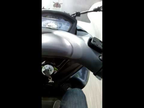 Yamaha Tricity 125cc Stock Top speed Test