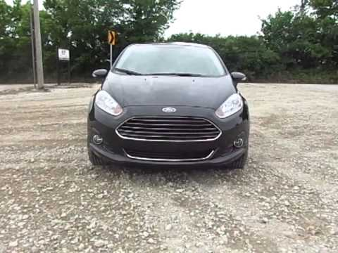 New 2014 Ford Fiesta Titanium test drive--review--exhaust sound @Zeck Ford