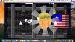 DONALD TRUMP SONG!!! - Geometry Dash - Trump BossFight by GusHasMandMs