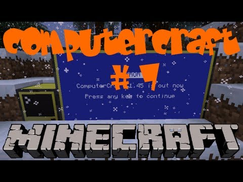 Computercraft 1.48 #7 - Tunnel-Programm Mining turtle. Strip Mining Version 2