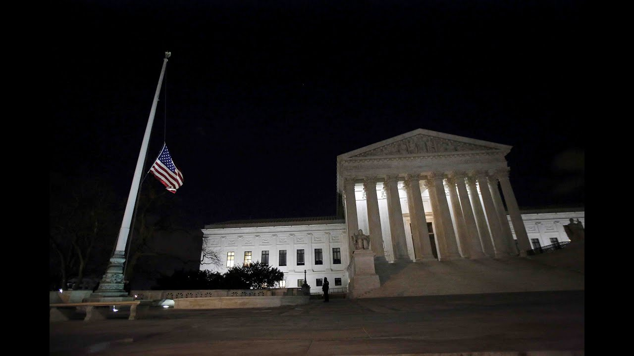 How will Scalia's vacancy affect the balance of the court?