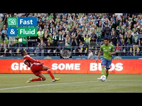 Fast & Fluid Play of the Week: Neagle Abuses the High Line Defense