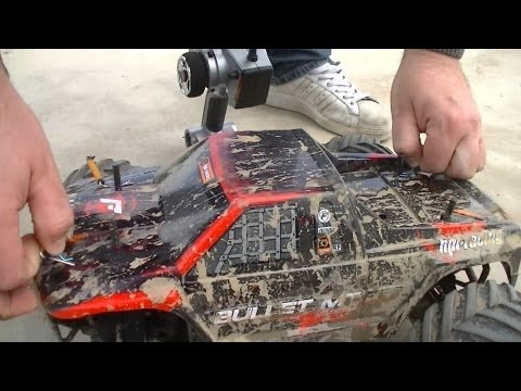 HPI Bullet ST/MT Flux 2013 - Kinver Skate Park Bash 4 - RC Car Club