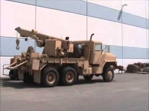 J And J Towing >> Sold! American General M936 Military Grade 5 Ton 6x6 Wrecker bidadoo.com - YouTube