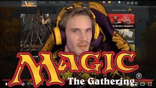 PewDiePie Plays MTG Arena & Saves Magic the Gathering from WOTC