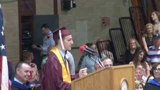 PHS 2015 Valedictorian Speech and Flash Mob